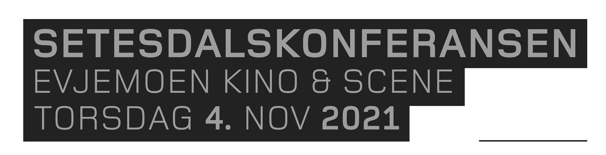 Setesdalskonferansen 2021